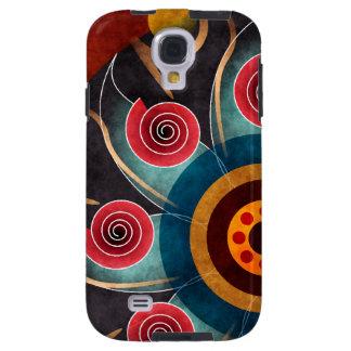 Floral Color Abstract Vector Art Galaxy S4 Case