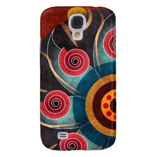 Floral Color Abstract Vector Art Galaxy S4 Covers