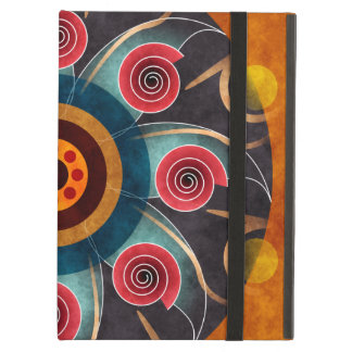 Floral Color Abstract Vector Art iPad Air Cases