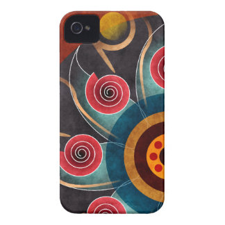 Floral Color Abstract Vector Art iPhone 4 / 4 Case-Mate iPhone 4 Cases