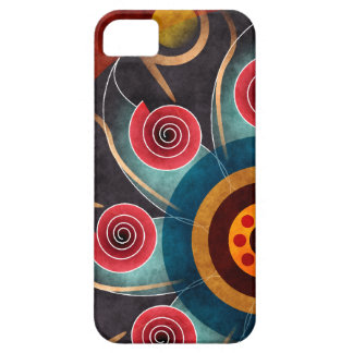 Floral Color Abstract Vector Art iPhone 5 iPhone 5 Covers
