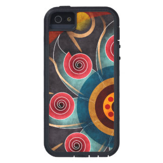 Floral Color Abstract Vector Art iPhone 5 Cases