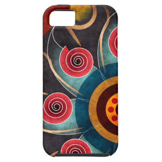 Floral Color Abstract Vector Art iPhone 5 iPhone SE/5/5s Case