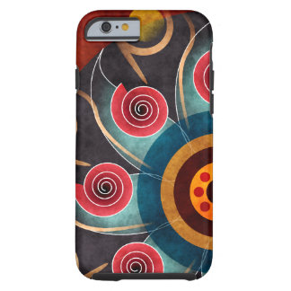 Floral Color Abstract Vector Art iPhone 6 case