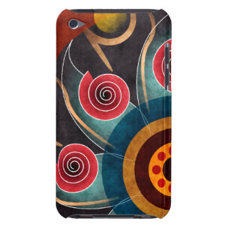 Floral Color Abstract Vector Art iPod Touch iPod Touch Case