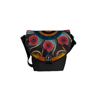 Floral Color Abstract Vector Artt Mini Bag Messenger Bags