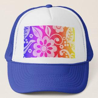 Floral Color Splash Hat
