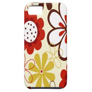 Floral colorido iPhone 5 Case-Mate coberturas