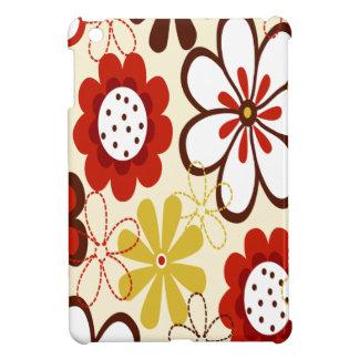 Floral colorido iPad mini protectores