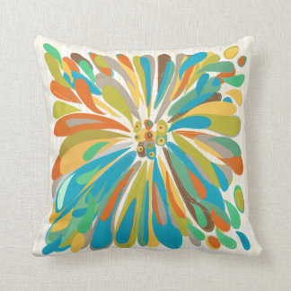 Floral colorido intrépido del crisantemo almohadas