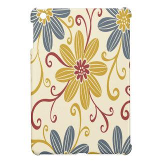 Floral colorido iPad mini cobertura