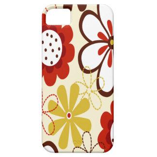 Floral colorido iPhone 5 Case-Mate fundas