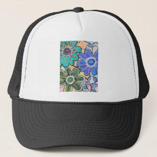 floral colors.jpgBright Floral arrangement Trucker Hat