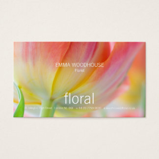Floral - Colors of Spring Business Card