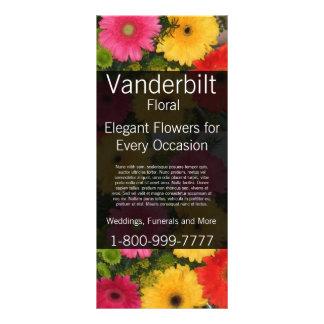 Floral Company Florist Gerber Daisy Rack Card