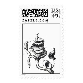 Floral Complaints postage stamp