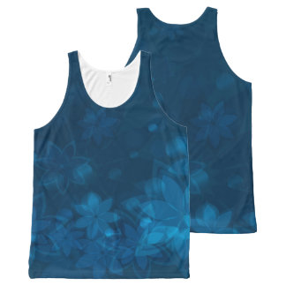 Floral Composition tank top All-Over Print Tank Top