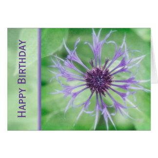 Floral - Cornflower Card