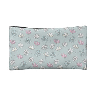 Floral Cosmetic Bag Small