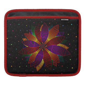 Floral cosmos sleeves for iPads