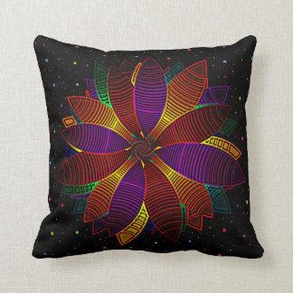 Floral cosmos pillow
