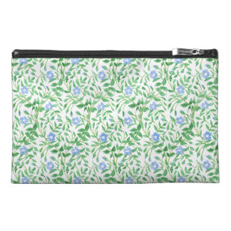 Floral Country-style Blue White Periwinkle Pattern Travel Accessory Bag