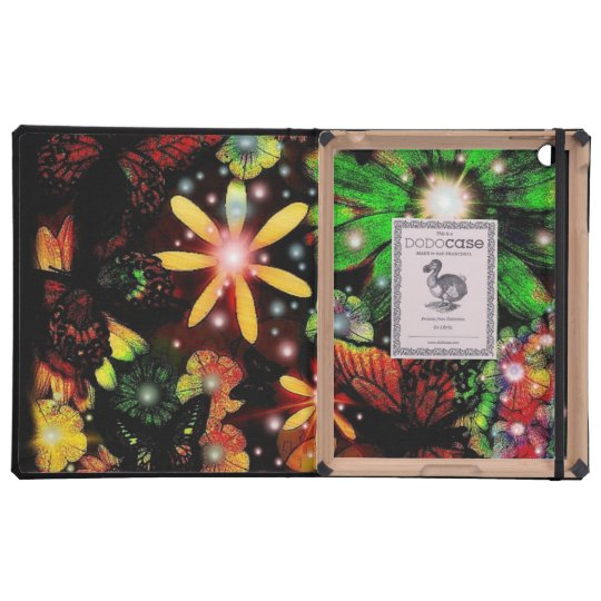 Floral Cover For iPad