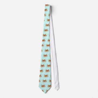Floral Crab Tie