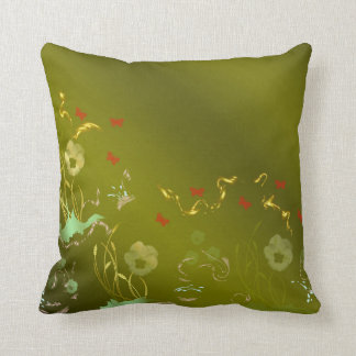 floral craft, holiday, elegant, ,color,homdecor, throw pillow