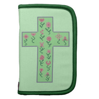 Floral Cross Planners