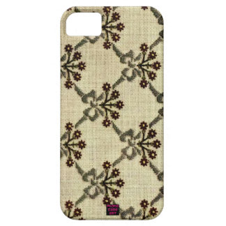 Floral Cross-Stitch Embroidery Pattern Design iPhone SE/5/5s Case