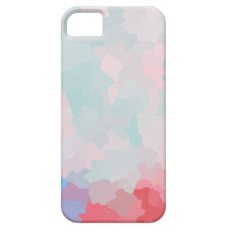 Floral Crystalized moderno Funda Para iPhone 5 Barely There