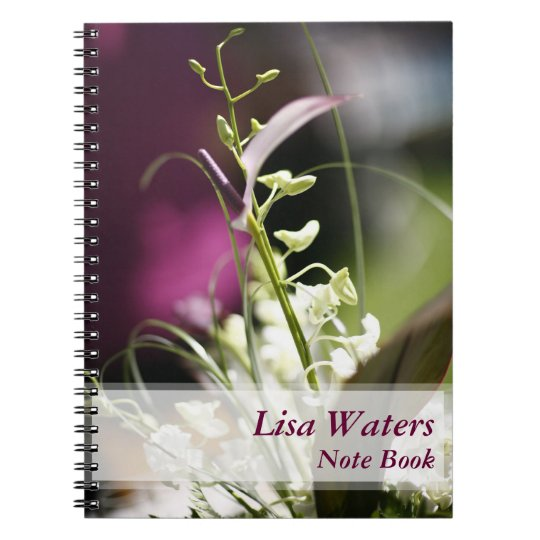 Floral Customized Notebook