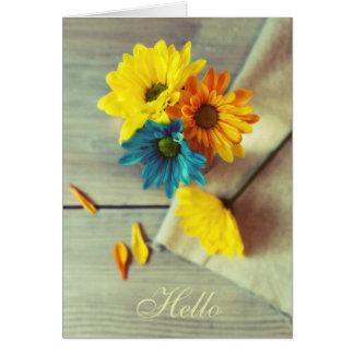 Floral - Daisy Card