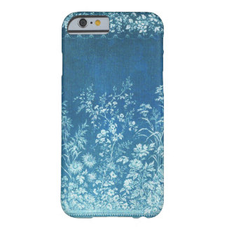 Floral damask blue & white flowers vintage willow barely there iPhone 6 case