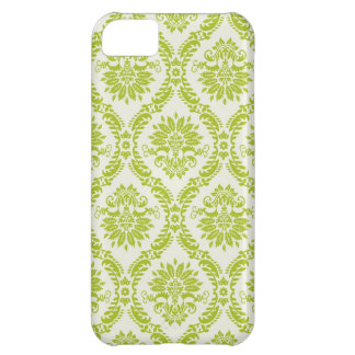 Floral Damask Cover For iPhone 5C