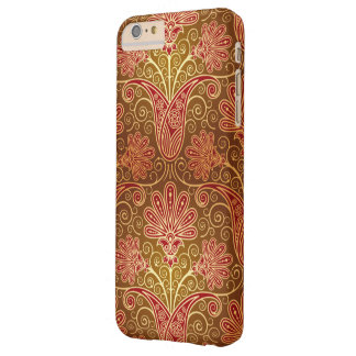 Floral Damask Pattern Barely There iPhone 6 Plus Case