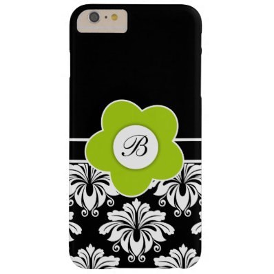 Floral Damask Pattern Style Barely There iPhone 6 Plus Case