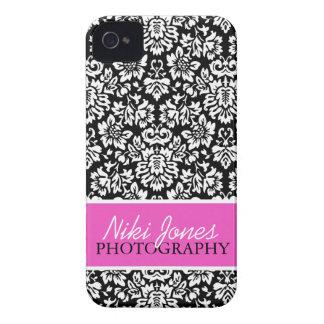 Floral Damask | Pink iPhone 4 Case