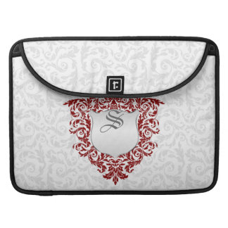 floral damask style - light sleeves for MacBook pro
