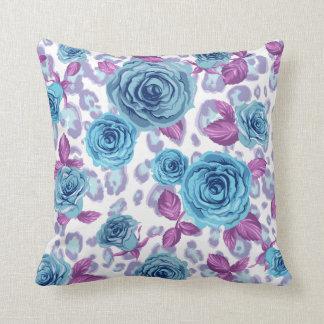 Floral Damask Throw Pillow