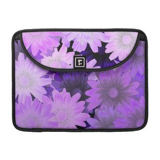 Floral de color de malva fundas para macbook pro