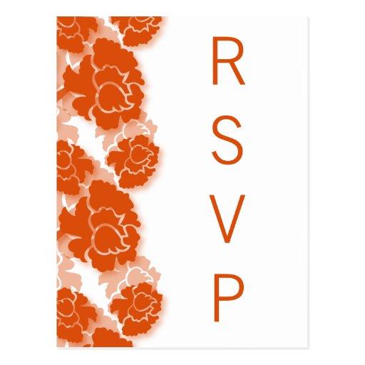 Floral Decadence RSVP Postcard