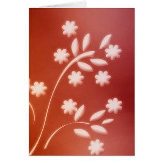 Floral Deco Card