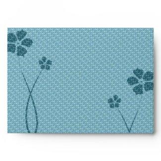 Floral Deco envelope