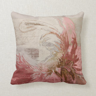 Floral Deco Pink 08pw - Modern Pillows
