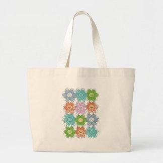 Floral Decor Canvas Bags