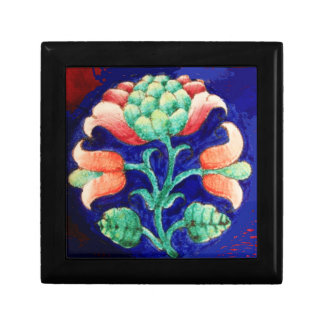 FLORAL DECOR Blue,Pink,Green Gift Box