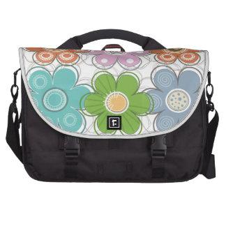 Floral Decor Laptop Bag