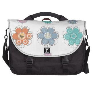Floral Decor Commuter Bag